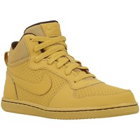 Schuhe Kinder Sneaker High Nike Court Borough Mid Honigfarbig