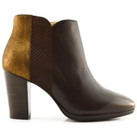 Schuhe Damen Low Boots Schmoove SCHMOOVE HEROINE PICTURE DELTA Braun