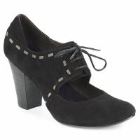 Schuhe Damen Pumps Sans Interdit ELINE Schwarz