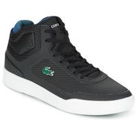 Schuhe Herren Sneaker High Lacoste EXPLORATEUR SPT MID Schwarz / Grün