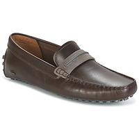 Schuhe Herren Slipper Lacoste HERRON Braun