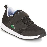 Schuhe Kinder Sneaker Low Lacoste L.IGHT Schwarz / Grau