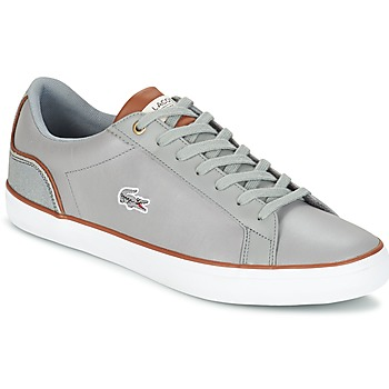 Schuhe Herren Sneaker Low Lacoste LEROND 3 Grau / Braun