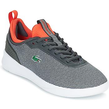 Schuhe Herren Sneaker Low Lacoste LT SPIRIT 2.0 Grau / Rot