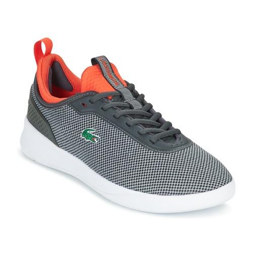 huge discount 1d727 97c14 Lacoste / LT SPIRIT 2.0 Grau / Lacoste Rot Schuhe Sneaker ...