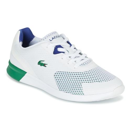 Schuhe Herren Sneaker Low Lacoste LTR.01 Weiss / Grün