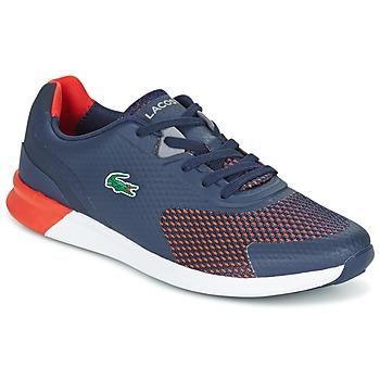 Schuhe Herren Sneaker Low Lacoste LTR.01 Marine / Rot