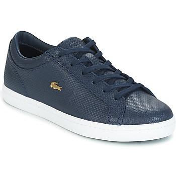 Schuhe Damen Sneaker Low Lacoste STRAIGHTSET Marine
