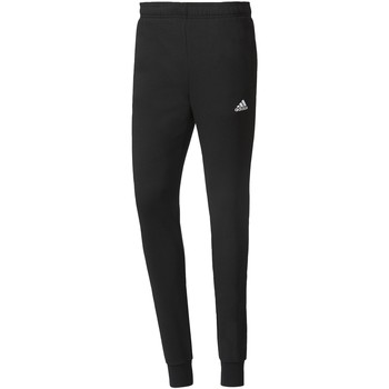 Kleidung Herren Jogginghosen Adidas Athletics Essentials French Terry Hose Schwarz / Weiß