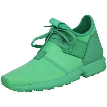 Schuhe Jungen Sneaker Low adidas Originals ZX FLUX PLUS K Grun Kinder Sneakers Schuhe Neu grn