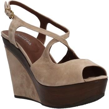 Schuhe Damen Sandalen / Sandaletten Carmens Padova sandalen beige wildleder AF500 beige