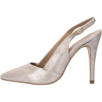 Schuhe Damen Sandalen / Sandaletten Carmens Padova sandalen grau leder wildleder AF503 grau