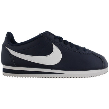 Schuhe Damen Sneaker Low Nike wmns classic cortez leather 807471 400 Azul