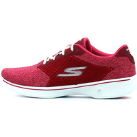 Schuhe Damen Sneaker Low Skechers Go Walk 4 Exceed Rose