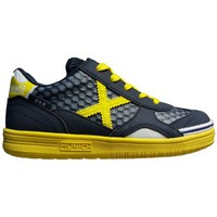 Schuhe Kinder Sneaker Low Munich Fashion G3.5 KID-FEEL NEGRO/AMARILLO
