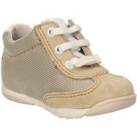 Schuhe Jungen Sneaker Balducci sneakers beige textil wildleder AF694 beige