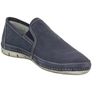 Schuhe Herren Slip on Bugatti Shoes K186036400 Blau