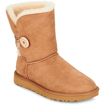 Schuhe Damen Boots UGG BAILEY BUTTON II Chestnut
