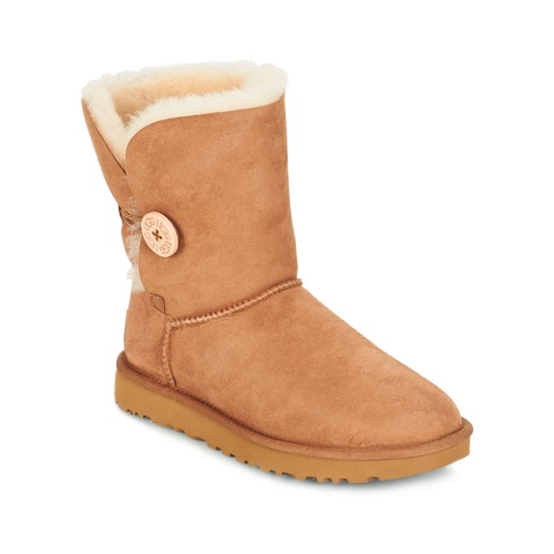 Schuhe Damen Boots UGG BAILEY BUTTON II Braun