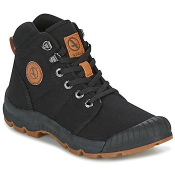 Schuhe Damen Sneaker Low Aigle TENERE LIGHT W Schwarz