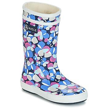 Schuhe Mädchen Gummistiefel Aigle LOLLY POP GLITTERY Blau