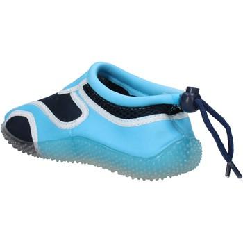 Schuhe Jungen Sneaker Everlast sneakers blau textil hellblau gummi AF852 mehrfarben