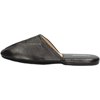 Schuhe Herren Pantoffel Calpierre PP10-P BLACK