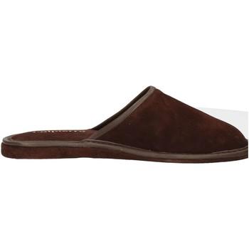 Schuhe Herren Pantoffel Calpierre CALPIERRE  PP1-P Pantoffel Mann Braun Braun
