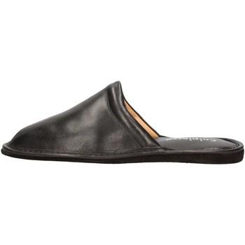Schuhe Herren Pantoffel Calpierre PP2 BLACK