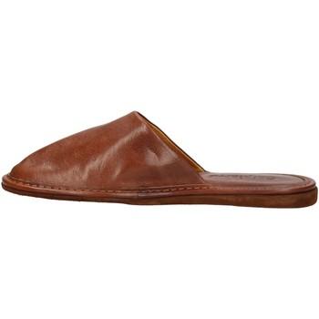 Schuhe Herren Pantoffel Calpierre CALPIERRE  PP30-P Pantoffel Mann Braun Braun