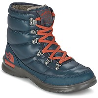 Schuhe Damen Schneestiefel The North Face THERMOBALL LACE II W Blau
