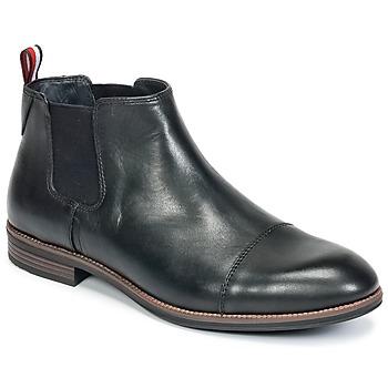 Schuhe Herren Boots Tommy Hilfiger TOMMY COLTON 11A Schwarz