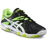 Schuhe Herren Indoorschuhe Asics Gel-Sensei 6 B502Y-9001 Grün,Schwarz