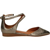 Schuhe Damen Ballerinas What For FOIL SHEEP Gold