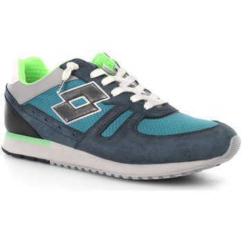 Schuhe Herren Wanderschuhe Lotto S8841 Sportschuhe Mann Blue Curacao/Green Atlantic Blue Curacao/Green Atlantic