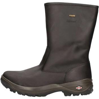 Schuhe Damen Boots Grisport 11561 D3LG U Stiefel Mann Schwarz Schwarz