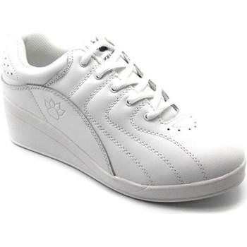 Schuhe Damen Indoorschuhe Kelme Sportschuhe Wedge  weiß Weiss