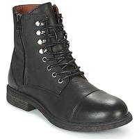 Schuhe Herren Boots Selected TREVOR Schwarz