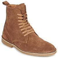 Schuhe Herren Boots Selected ROYCE HIGH Cognac