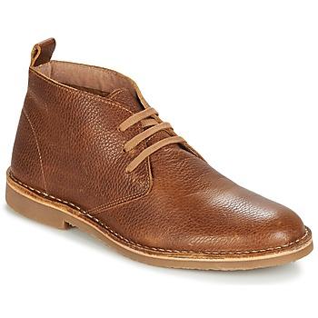 Schuhe Herren Boots Selected ROYCE CHUKKALA Cognac