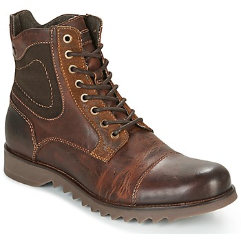 Schuhe Herren Boots Jack & Jones DEAN LEATHER Braun