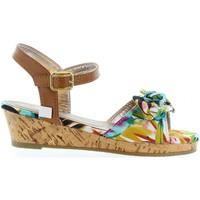 Schuhe Mädchen Sandalen / Sandaletten Flower Girl 340093-B4600 Azul
