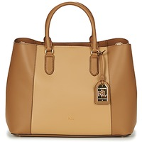 Taschen Damen Handtasche Ralph Lauren DRYDEN MARCY TOTE Cognac / Camel