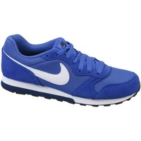 Schuhe Kinder Sneaker Low Nike MD Runner 2 GS Blau