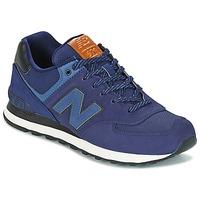 Schuhe Sneaker Low New Balance ML574 Marine