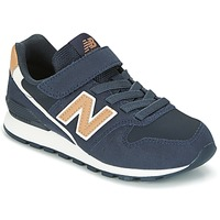 Schuhe Kinder Sneaker Low New Balance KV996 Marine / Weiss