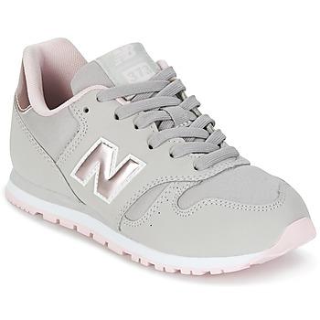Schuhe Mädchen Sneaker Low New Balance KJ374 Grau / Rose