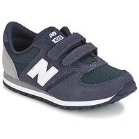 Schuhe Kinder Sneaker Low New Balance KE421 Marine / Grau