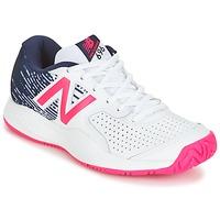 Schuhe Damen Tennisschuhe New Balance WC697 Weiss