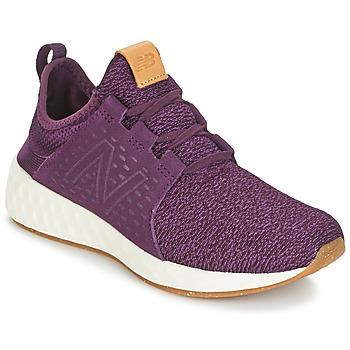Schuhe Damen Laufschuhe New Balance CRUZ Bordeaux